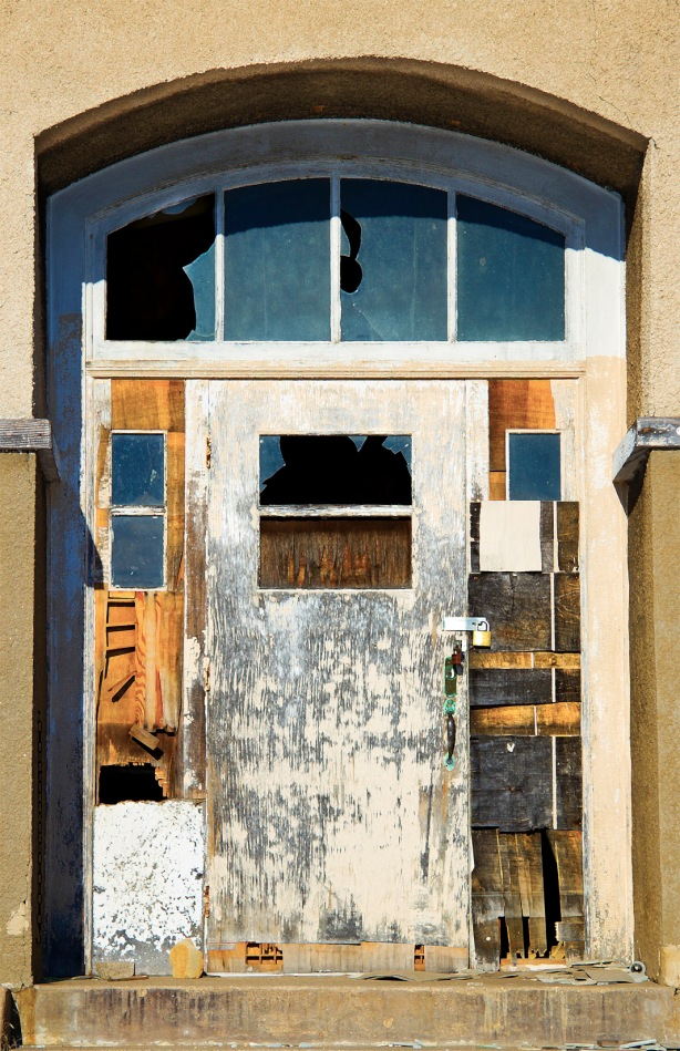 blue gold wabi door
